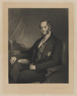 Archibald William Montgomerie, 13th Earl of Eglinton and 1st Earl of Winton, by George Sanders, after  Stephen Catterson Smith - NPG D7852
