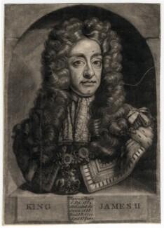 King James II, after Unknown artist - NPG D7867