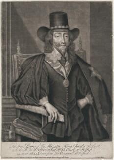King Charles I, by John Faber Sr, sold by  Bispham Dickinson, after  Edward Bower - NPG D7881