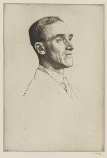 Sir John William Fortescue, by William Strang, 1909 - NPG D7884 - © National Portrait Gallery, London
