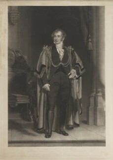 William Thompson, by Charles Edward Wagstaff, after  Henry William Pickersgill - NPG D7886