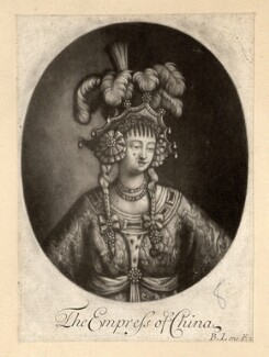 'The Empress of China' (possibly Anne Bracegirdle), published by Bernard Lens (II) - NPG D789
