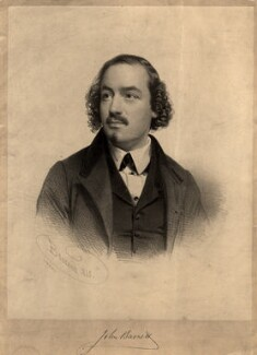 John Barnett, by Charles Baugniet, mid 19th century - NPG D7897 - © National Portrait Gallery, London