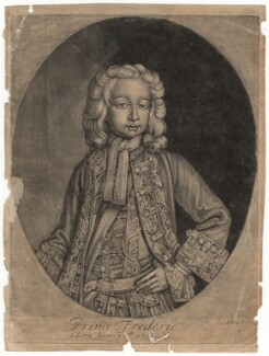 Frederick Lewis, Prince of Wales, after Unknown artist, (1716) - NPG D7918 - © National Portrait Gallery, London