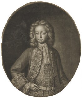 Frederick Lewis, Prince of Wales, possibly by John Faber Sr, after  Unknown artist, 1716 - NPG D7919 - © National Portrait Gallery, London