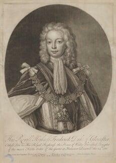 Frederick Lewis, Prince of Wales, by John Faber Jr, sold by  Thomas Taylor, after  Franken, 1716 or after - NPG D7922 - © National Portrait Gallery, London