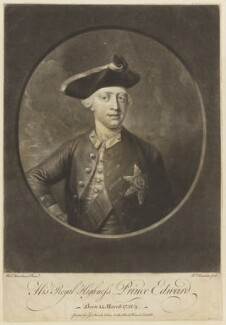 Edward Augustus, Duke of York and Albany, by Richard Houston, after  Henry Robert Morland - NPG D7928