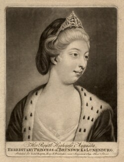 Princess Augusta Charlotte, Duchess of Brunswick-Wolfenbüttell, after Unknown artist - NPG D7932