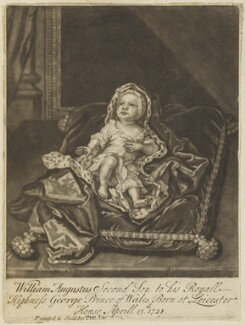 William Augustus, Duke of Cumberland, probably printed and published by Timothy Jordan, after  Sir Godfrey Kneller, Bt - NPG D7934