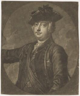 William Augustus, Duke of Cumberland, by John Faber Jr, after  Thomas Hudson - NPG D7943