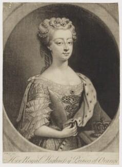 Anne, Princess Royal and Princess of Orange, after Philip Mercier, 1734 or after - NPG D7952 - © National Portrait Gallery, London
