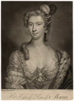 Princess Mary of Hesse, by John Faber Jr, after  Arthur Pond - NPG D7959