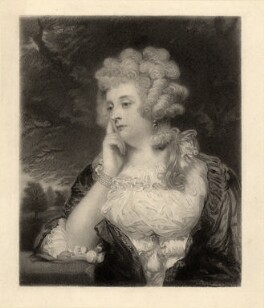 Jane Braddyll (née Gale), by W. Joseph Edwards, after  Sir Joshua Reynolds - NPG D798