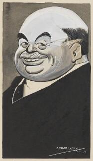Sir (Richard) Woodman Burbidge, 2nd Bt, by Fred May - NPG D7984