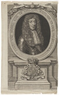 King James II, by Robert Sheppard, after  Sir Godfrey Kneller, Bt - NPG D7988