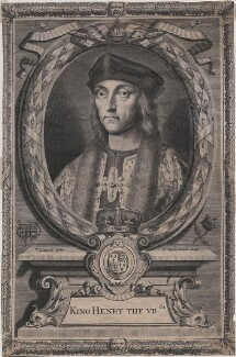 King Henry VII, by Peter Vanderbank (Vandrebanc), after  Edward Lutterell (Luttrell) - NPG D7990