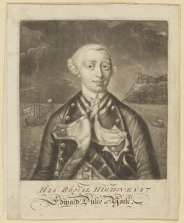 Edward Augustus, Duke of York and Albany, after Unknown artist - NPG D7991