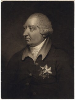 King George III, by George Clint, after  Thomas Stewardson - NPG D8004