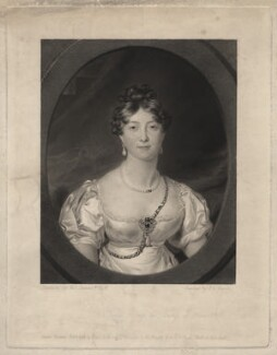 Princess Mary, Duchess of Gloucester, by Joseph Epenetus Coombs, after  Sir Thomas Lawrence - NPG D8018