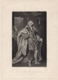 Frederick, Duke of York and Albany, by Samuel William Reynolds, after  Sir Joshua Reynolds - NPG D8020