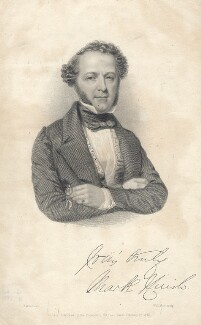 Mark Huish, by William Henry Mote, after  Abraham Wivell - NPG D8023