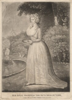 Frederica Charlotte Ulrica Catherina, Duchess of York and Albany, published by Robert Laurie, published by  James Whittle, published 12 May 1794 - NPG D8029 - © National Portrait Gallery, London