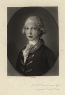 Prince Edward, Duke of Kent and Strathearn, by George Sanders, after  Thomas Gainsborough, published 1877 - NPG D8033 - © National Portrait Gallery, London
