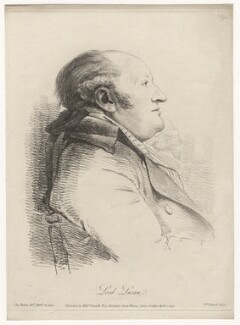 Charles Bingham, 1st Earl of Lucan, by William Daniell, after  George Dance - NPG D8040
