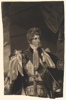 King George IV when Prince Regent, by William Say, after  John Hoppner - NPG D8048