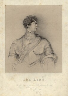 King George IV, by Richard James Lane, after  Sir Thomas Lawrence - NPG D8049