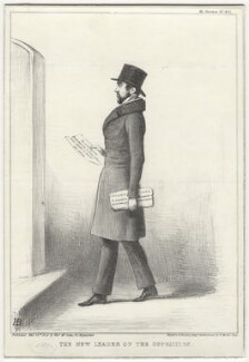 Charles de Laet Waldo Sibthorp, by John ('HB') Doyle, printed by  Alfred Ducôte, published by  Thomas McLean - NPG D8062
