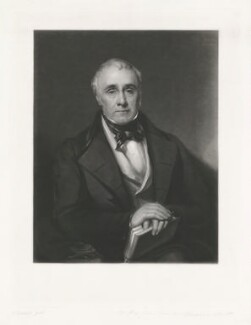 John Charles Herries, by William Walker, after  Sir William Boxall - NPG D8065