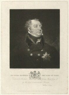 Frederick, Duke of York and Albany, by Samuel William Reynolds, by  Samuel Cousins, published by  William Sams, after  John Jackson - NPG D8066