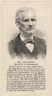 Samuel Woods, published by The Graphic, after  James Russell & Sons - NPG D8080