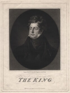 King George IV, by Samuel William Reynolds - NPG D8086