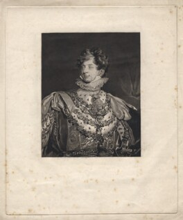 King George IV, after Sir Thomas Lawrence - NPG D8087
