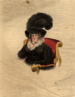 Caroline Amelia Elizabeth of Brunswick, after Unknown artist - NPG D8093
