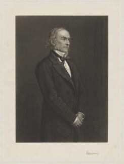 William Ewart Gladstone, by Thomas Oldham Barlow, after  Sir John Everett Millais, 1st Bt - NPG D8096