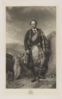 Prince Albert of Saxe-Coburg-Gotha, by Thomas Oldham Barlow, after  John Phillip - NPG D8097