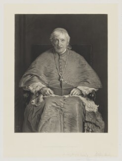 John Newman, by Thomas Oldham Barlow, after  Sir John Everett Millais, 1st Bt - NPG D8098