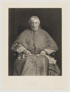 John Newman, by Thomas Oldham Barlow, after  Sir John Everett Millais, 1st Bt - NPG D8098