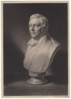 Charles Warren, by Samuel William Reynolds, after  William Behnes - NPG D8110