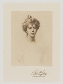 Alice Keppel, by Frederick John Jenkins, after  Ellis William Roberts - NPG D8115