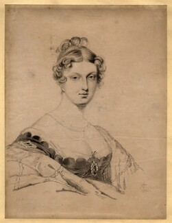 Princess Charlotte Augusta of Wales, by Frederick Christian Lewis Sr, after  Sir George Hayter, published 1816 - NPG D8119 - © National Portrait Gallery, London