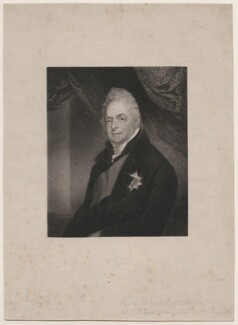 King William IV when Duke of Clarence, by Henry Edward Dawe, after  Charles Jagger - NPG D8127