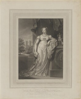 Princess Charlotte Augusta of Wales, by John Samuel Agar, published by  Colnaghi & Co, after  Charlotte Jones - NPG D8141