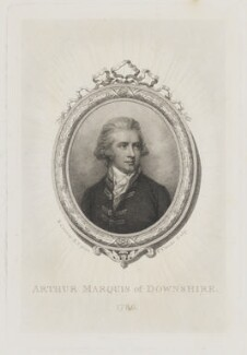 Arthur Hill, 2nd Marquess of Downshire, by Pierre Condé, after  Richard Cosway - NPG D8142