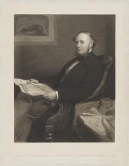 Sir John Fowler, 1st Bt, by Thomas Oldham Barlow, after  Sir John Everett Millais, 1st Bt - NPG D8148