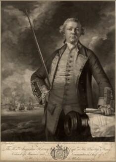 Augustus John Hervey, 3rd Earl of Bristol, by Edward Fisher, after  Sir Joshua Reynolds - NPG D815