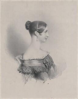 Queen Victoria, by Richard James Lane, published 1837 - NPG D8154 - © National Portrait Gallery, London